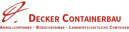 Decker Containerbau Logo