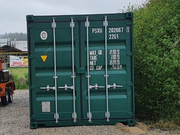 Seecontainer 6005 Moosgrün